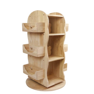 Revolving Wooden Bookcase